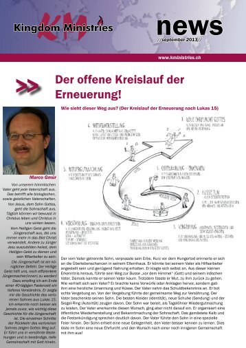 KM News Sep 13 - Kingdom Ministries