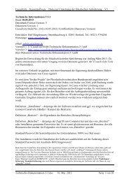 Technische Dokumentation 3-1 - CassaForte