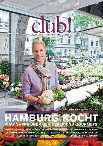 "Clubmitglieder zum Thema ""Hamburg kocht"" - Business Club ..."