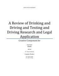 A Review of Drinking and Driving and Texting - Digital Repository of ...