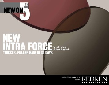 THICKER, FULLER HAIR IN 30 DAYS - Redken Professional