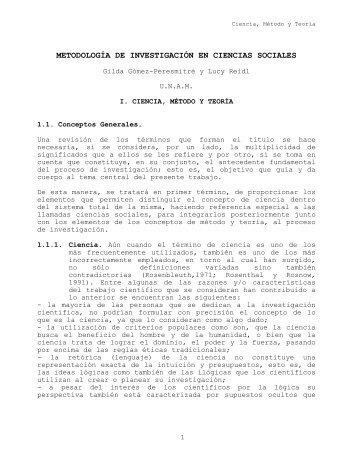 Metodología de Investigación - UNAM