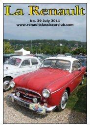 Renault Classic Car Club