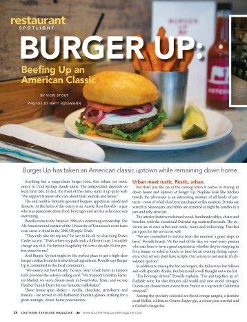 restaurant - Burger Up