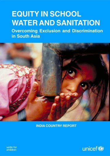 Equity in School Water and Sanitation