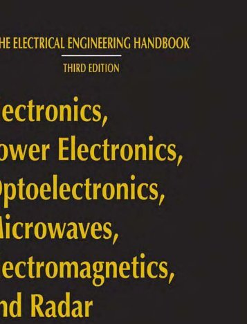 Electronics, Power Electronics, Optoelectronics, Microwaves ...