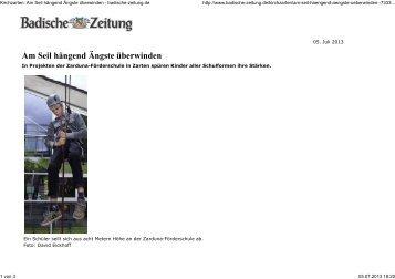 "Projekt ""Beweg' was!"" - Breisgau Energy Night"