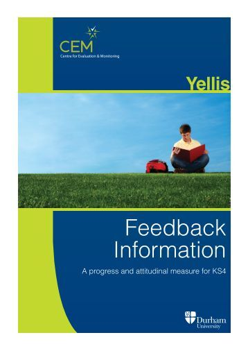 Download example feedback from here - CEM