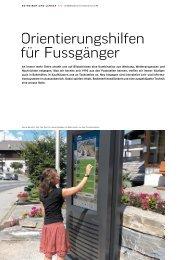 zum Artikel «Orientierungshilfen für Fussgänger» in pdf ... - Signal AG