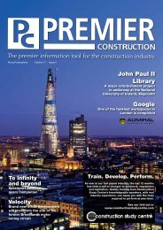 John Paul II Library Google - Premier Construction Magazine, UK
