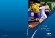 FIFA-Futsal-Spielregeln 2010/2011 - VFV