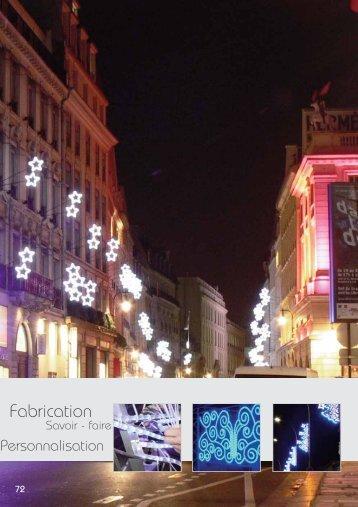 p72-128 Gamme Motifs - Festilight illumination décor lumineux led ...