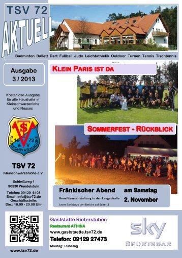 2 - TSV 72 Kleinschwarzenlohe e.V.