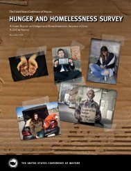 2012 Hunger and Homelessness Survey - Hunger Free Colorado