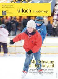 Mit Schwung in den Advent - e.villach.at
