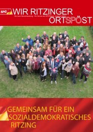 OrtSPÖst 2/2012 - SPÖ Ritzing