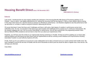 HB Direct issue 142 - Gov.uk