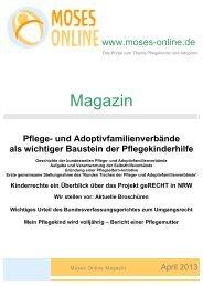 Moses Online Magazin - Ausgabe April 2013
