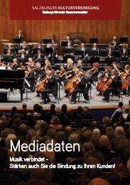 Mediadaten - Salzburger Kulturvereinigung