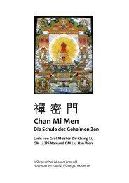 Chan Mi Gong - Skriptum - Stilles Qigong