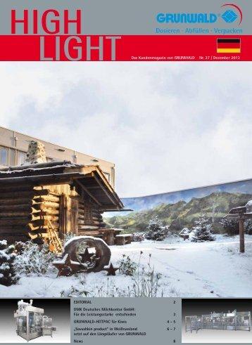 LIGHT Das Kundenmagazin von GRUNWALD Nr. 27 / Dezember ...