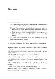 Literatur - Springer