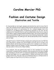 M Sc Costume Design Fashion Colleges Bharathiar University