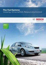 Flex Fuel-Systeme Vielseitig. Wirtschaftlich. Ressourcenschonend