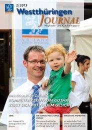 Journal - VR Bank Westthüringen eG