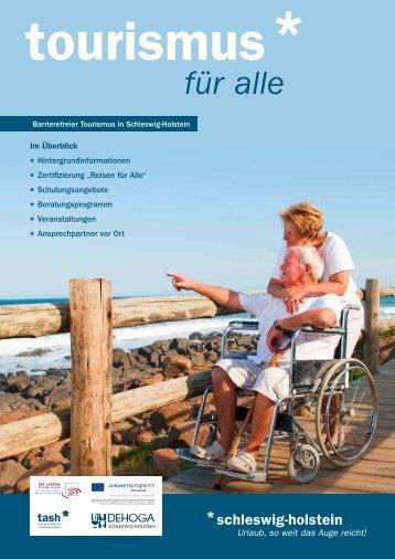 Informationsbroschüre Barrierefreier Tourismus - PDF-Format
