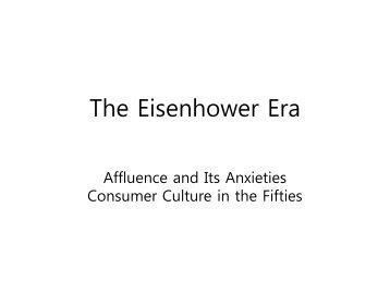 Chapter 37 The Eisenhower Era _Group 1