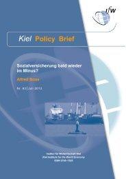 Kiel Policy Brief 63