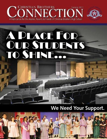 A Place For Our Students to Shine... - Christian Brothers High School