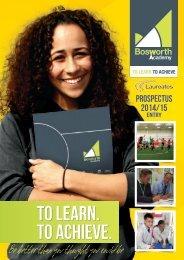 KS4 Prospectus 2014-2015 - Bosworth Academy
