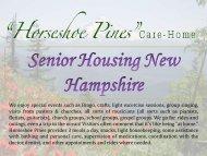 Senior Housing New Hampshire