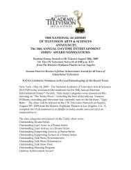 36th ANNUAL DAYTIME EMMY AWARDS - Variety