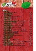 Tukaj si lahko pogledate / prenesete meni pizzerie. - Page 2