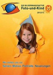 Prospekt für das Jahr 2012/13 - Foto-und-Kind