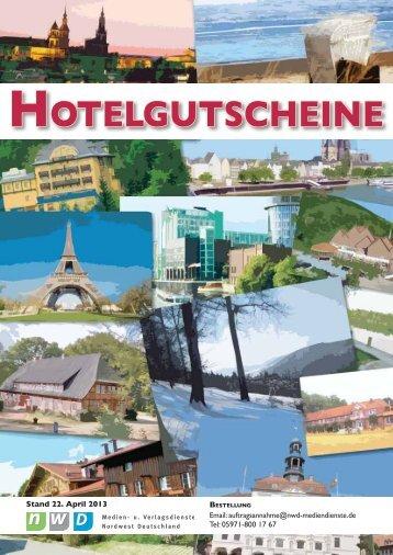 HOTELGUTSCHEINE - NWD Medien- und Verlagsdienste