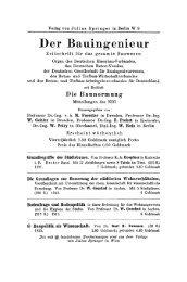 Der Bauingenieur - Springer