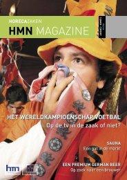 HMN MAGAZINE - Horecamakelaars Nederland
