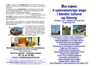 Sønderjylland/Slesvig 4 dage - Vordingborg Rejser Quality Tours