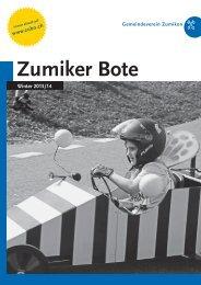 PDF – ZUBO-Broschuere – Winter 2013/2014 - Zumiker Bote