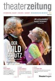 Theaterzeitung April 2013 - Theater Hagen