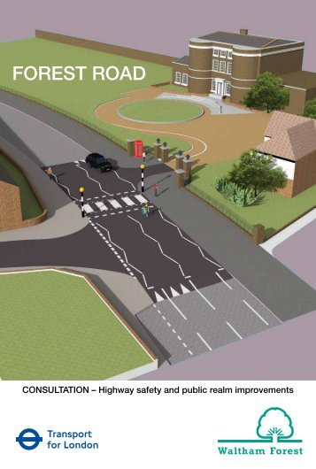 Forest Road Consultation leaflet (including proposal drawings)