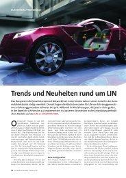 Trends und Neuheiten rund um LIN - Vector