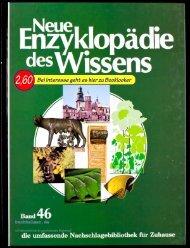Neue Enzyklopädie des Wissens Band 46