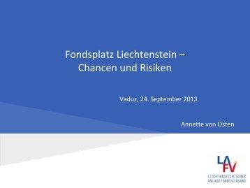 Präsentation Anette von Osten - Liechtenstein-Journal