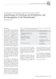 Empfehlungen zur Erstellung von Desinfektions - Deutsche ...