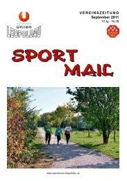 September 2011 - Sportunion Leopoldau